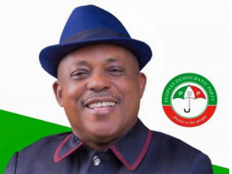 PDP National Chairman Uche Secondus