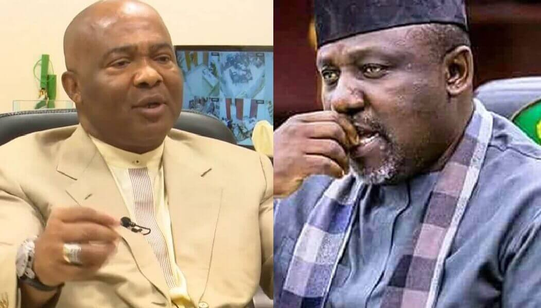 Gov. Hope Uzodinma and Sen Rochas Okorocha
